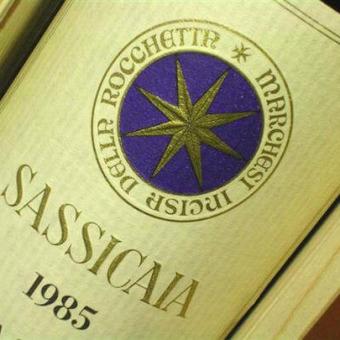 Sassicaia Vertikale 1979 - 2008