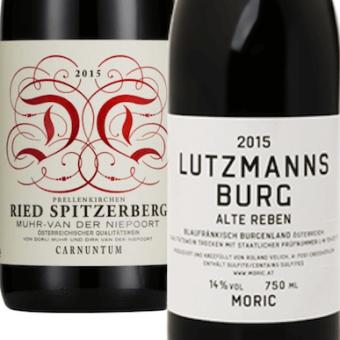 Paket des Monats: Blaufränkisch 2015 Moric & Muhr-van der Niepoort