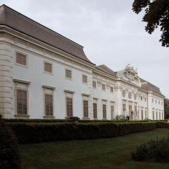 Verkostung Schloss Halbturn gegen den 'Rest der Welt'