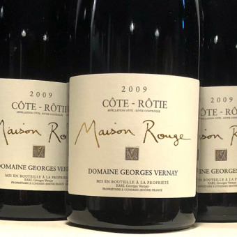 George Vernay Cote-Rotie Maison Rouge 2009