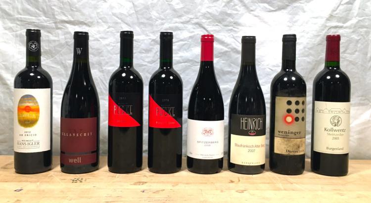 Paket des Monats: gereifte österreichische Rotweine