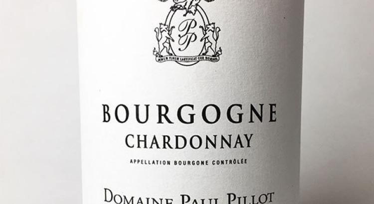 Domaine Paul Pillot Bourgogne Blanc 2016
