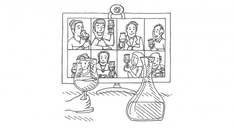trinkreif Tele-Tastings live mit Winzern