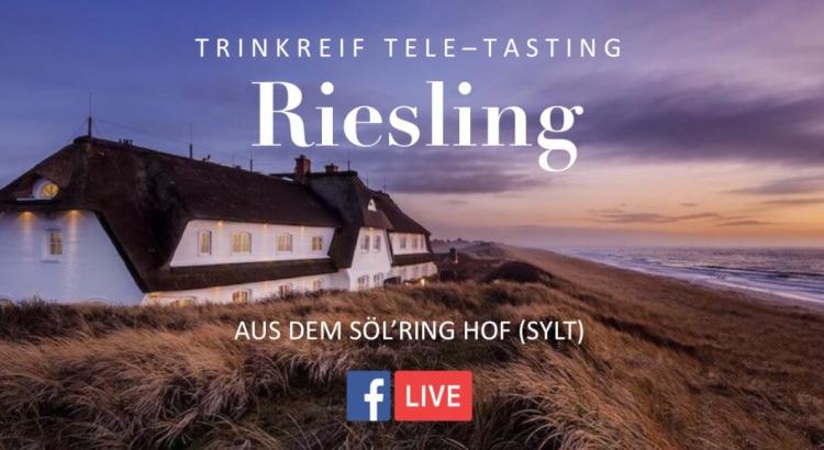 Freitag 8 Mai: Tele-Tasting 'Riesling trocken'