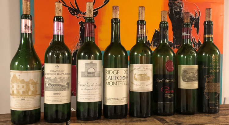 Nachlese Bordeaux 2000 Verkostung