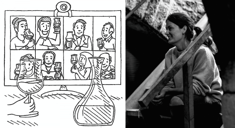 trinkreif Tele-Tasting live mit Sophie Christmann