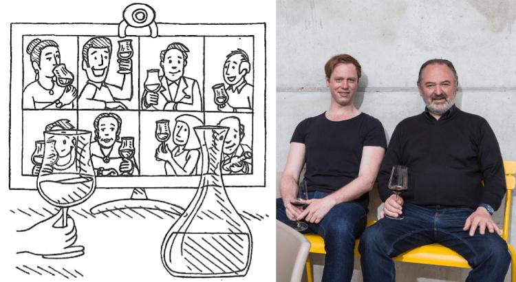 trinkreif Tele-Tasting live mit Hans & Martin Nittnaus