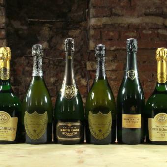 Premium Vintage Champagner Verkostung