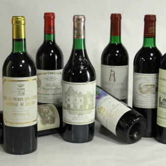 Verkostung 'Best of Bordeaux 1982'