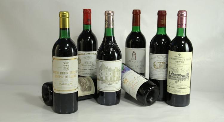 Verkostung 'Best of Bordeaux 1982'