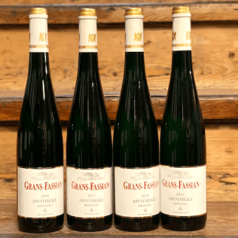 Grans-Fassian Riesling Apotheke GG Vertikalpaket