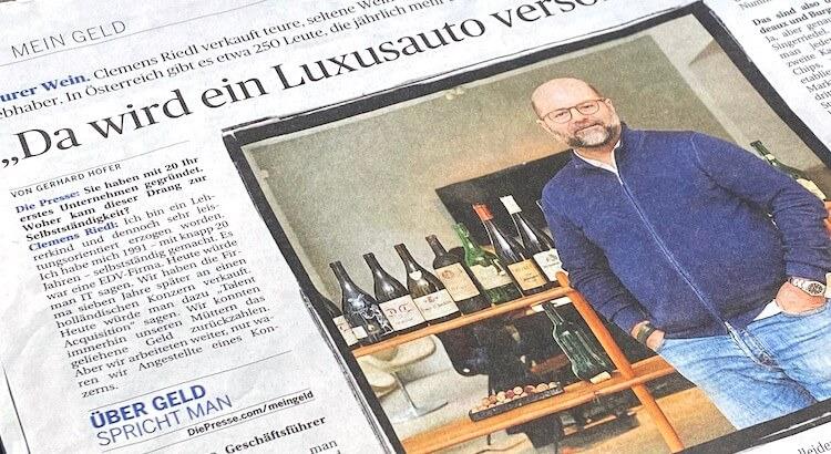 Clemens Riedl im großen Presse-Interview