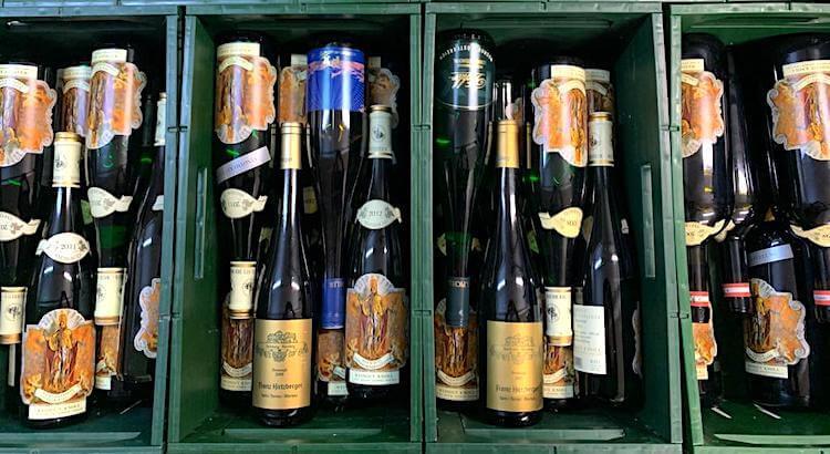trinkreif Schwerpunktliste Wachau mit 1400 Flaschen
