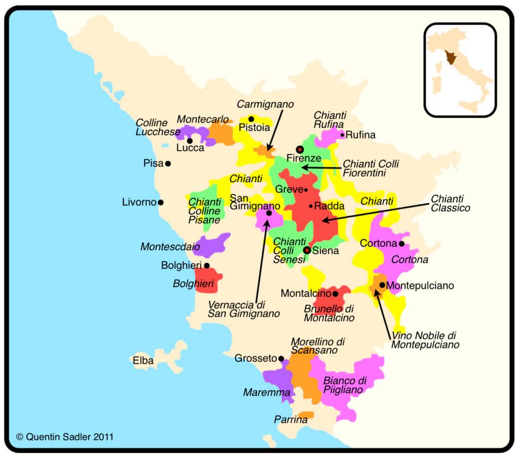toscana-weinregionen